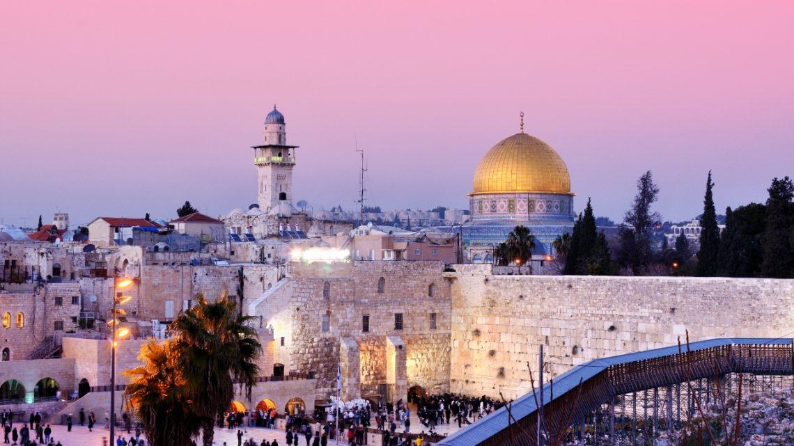 Jul i Jerusalem og Betlehem